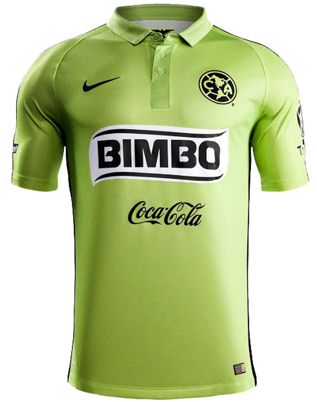 official photos 9c6d1 a644f NIKE CLUB AMERICA 2015 AWAY JERSEY GREEN