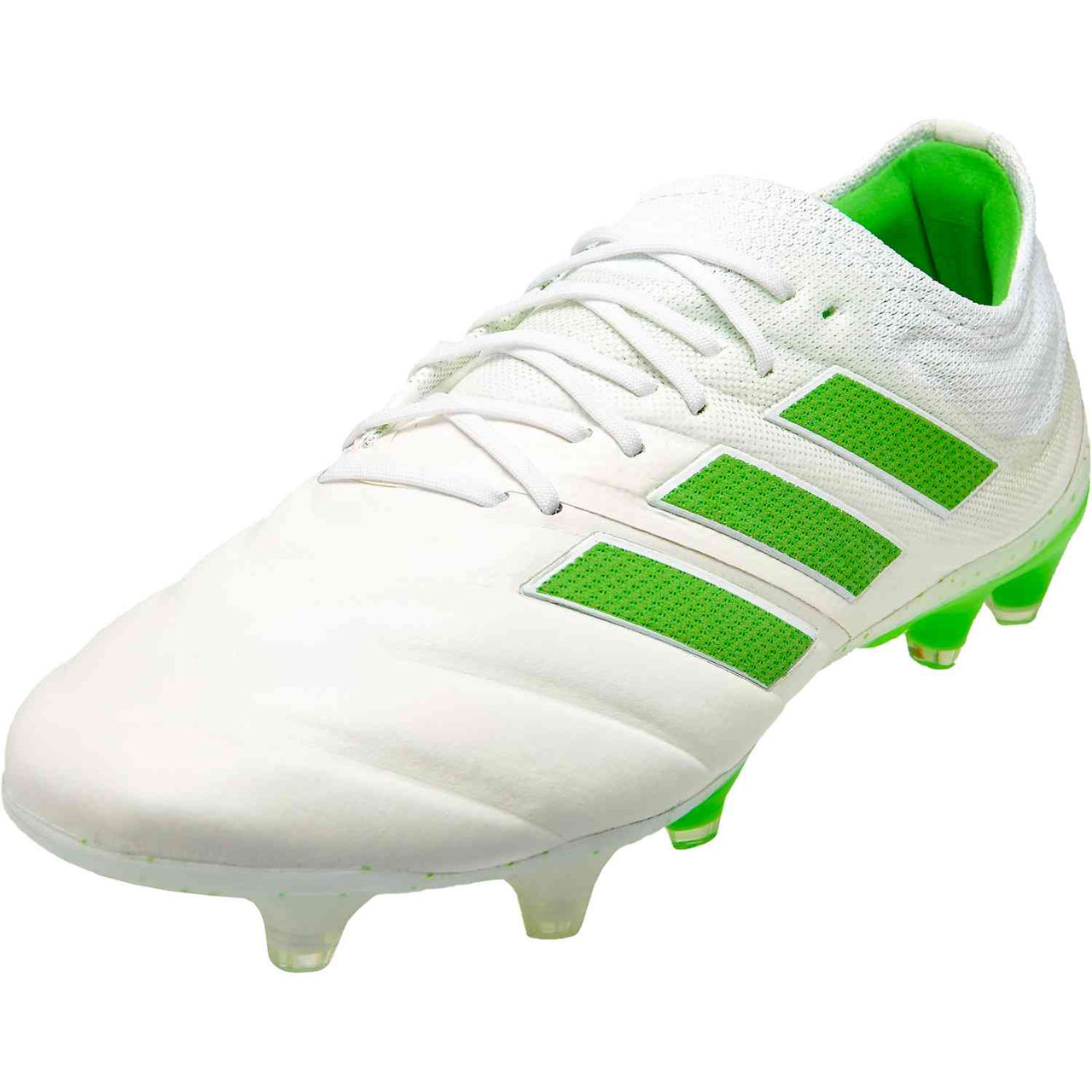 ccdde16a2 ADIDAS COPA 19.1 FG – Virtuso Pack WHITE GREEN - Soccer Plus