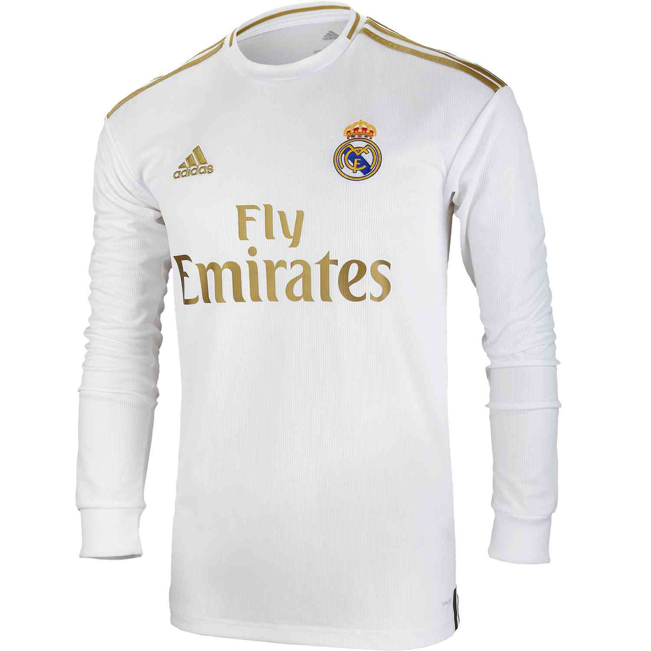 official photos 0cff3 c6f83 ADIDAS REAL MADRID 2020 HOME L/S JERSEY