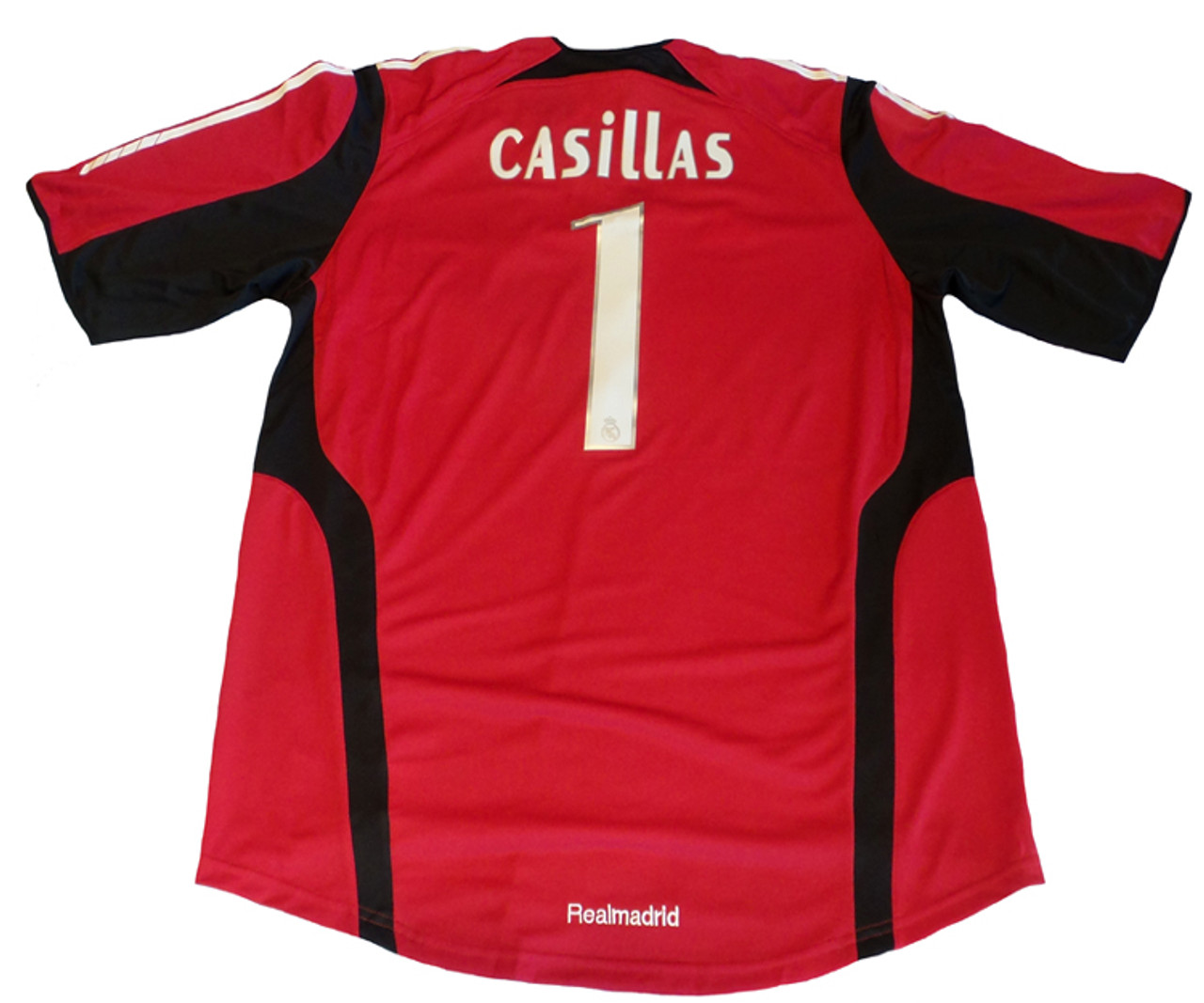 finest selection eda63 07486 ADIDAS REAL MADRID 2006 HOME `CASILLAS` G/K JERSEY RED