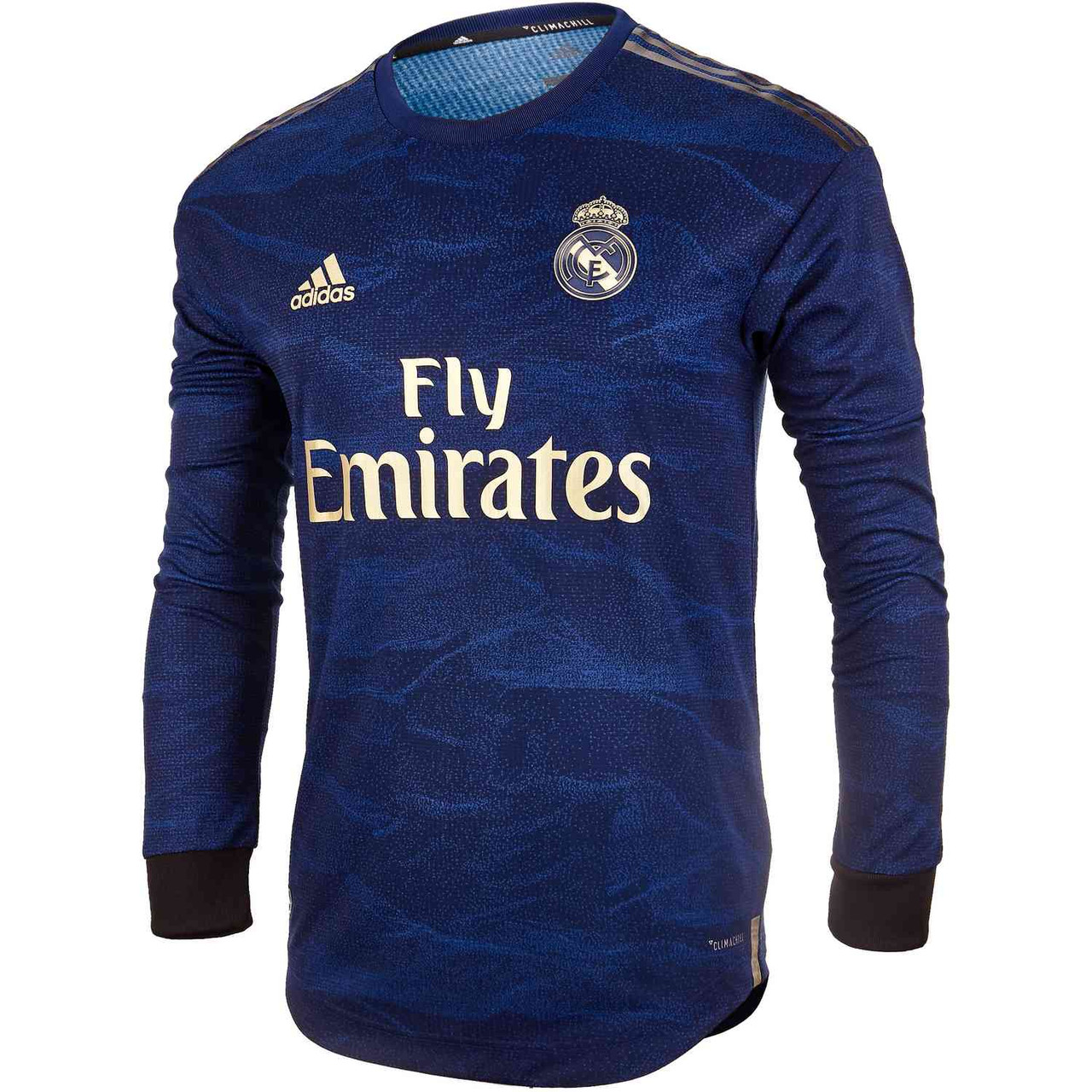 newest 621fd f4ad8 ADIDAS REAL MADRID 2020 AWAY AUTHENTIC LS JERSEY