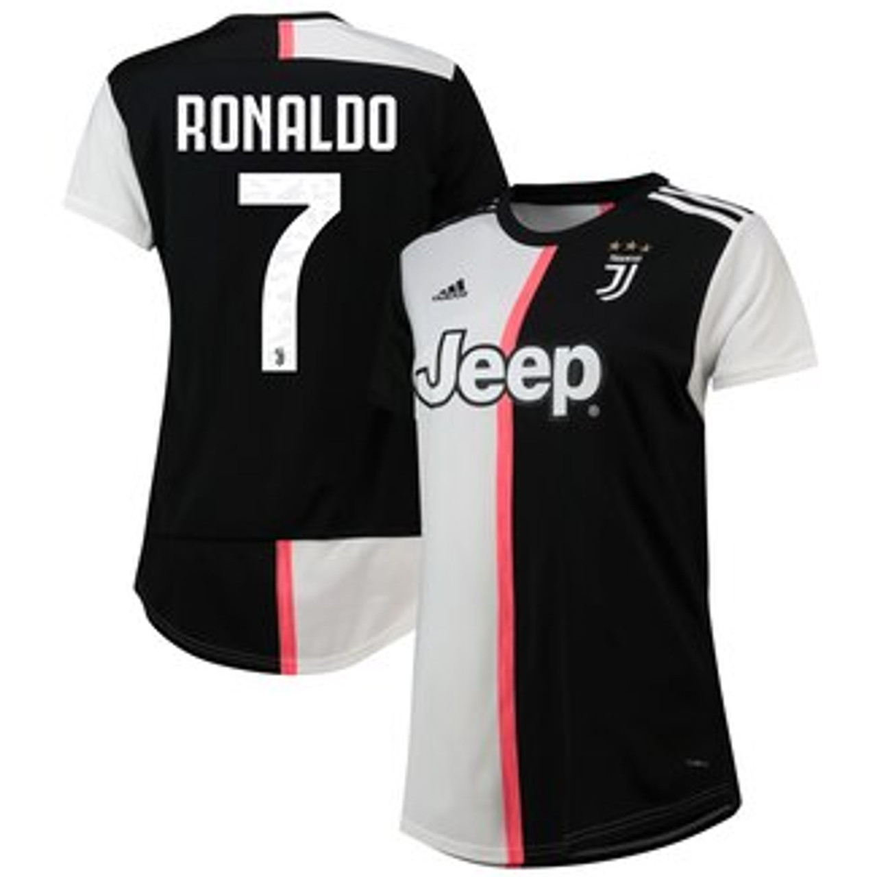 Adidas Juventus 2020 Home Ronaldo Jersey Soccer Plus