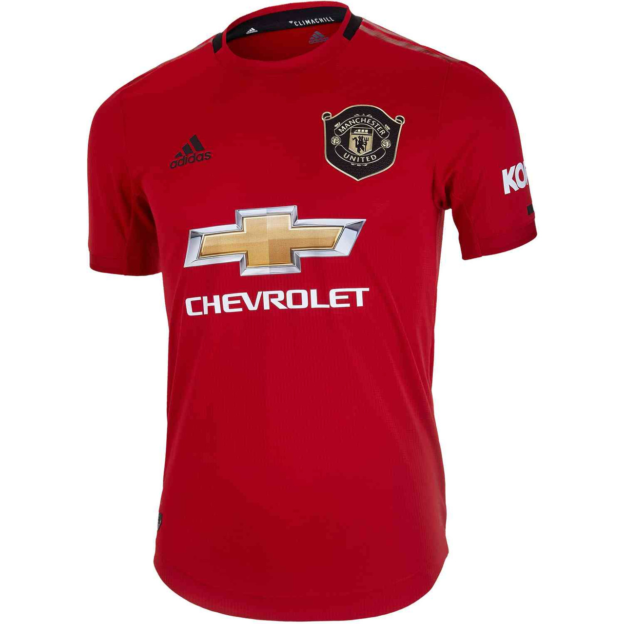 Adidas Manchester United 2020 Home Authentic Jersey Soccer Plus
