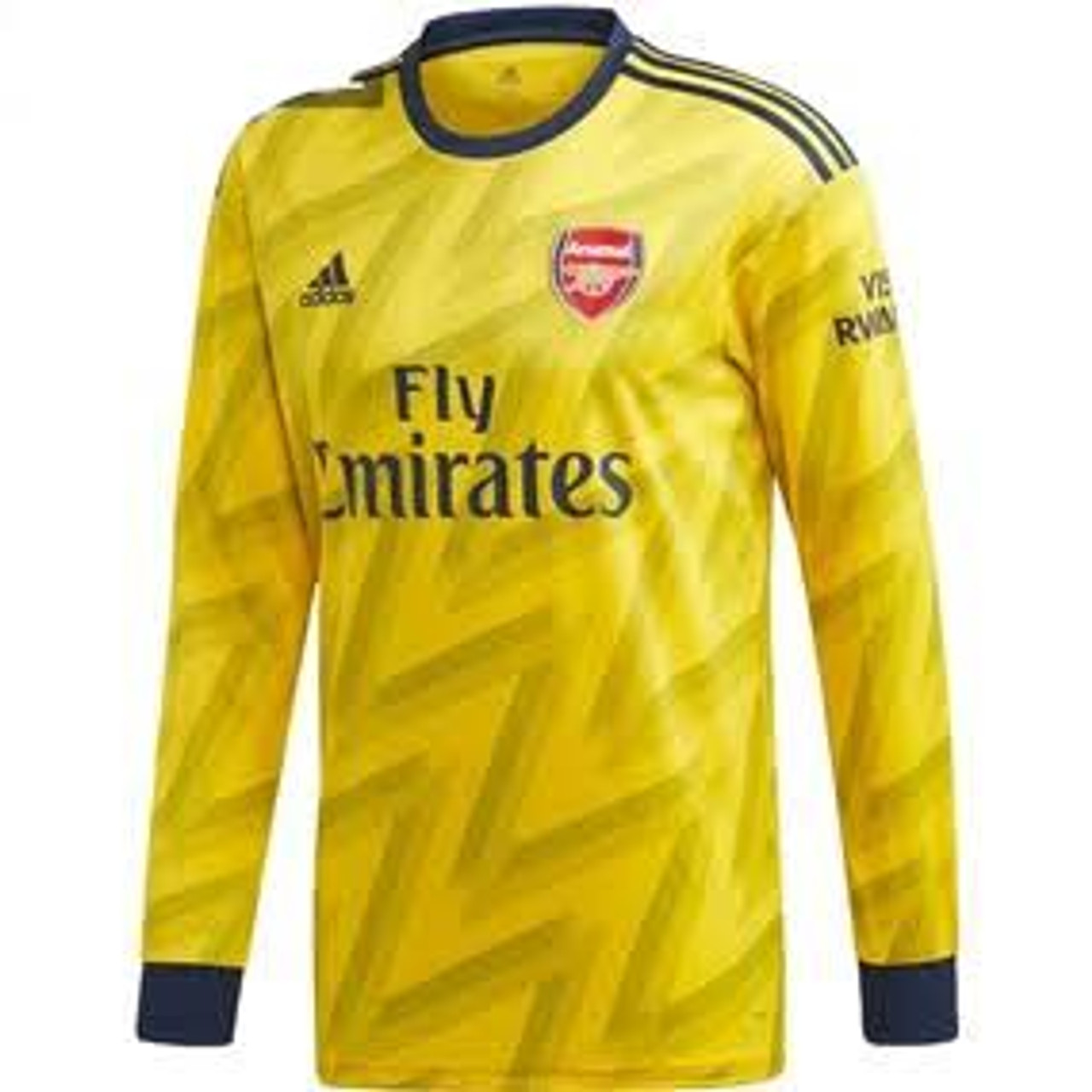 Adidas Arsenal 2020 Away Ls Jersey Yellow Soccer Plus