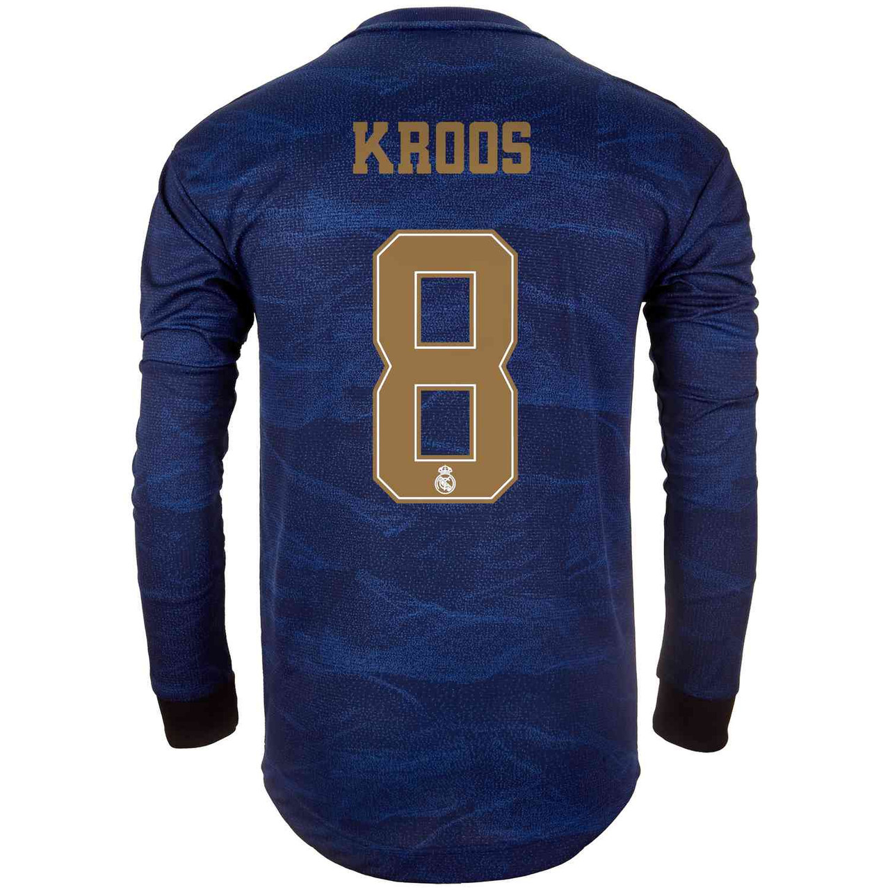 buy popular 23ad0 afd11 ADIDAS REAL MADRID 2020 AWAY AUTHENTIC `KROOS` LS JERSEY