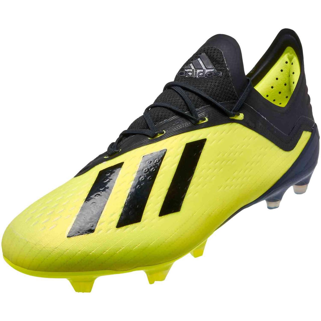 ADIDAS X 18.1 FG YELLOW/BLACK - Soccer Plus