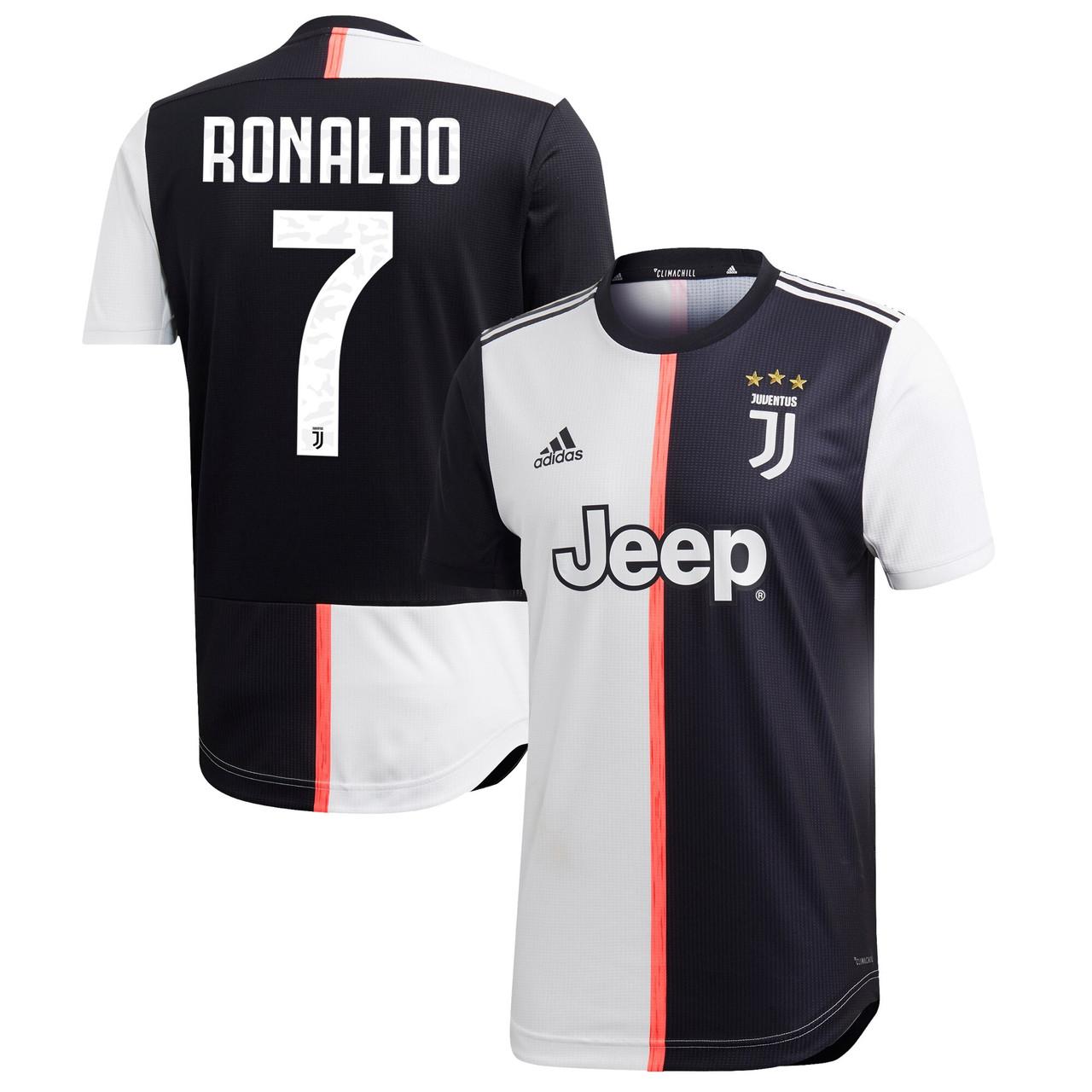 Confiar soborno Estoy orgulloso  ADIDAS JUVENTUS 2020 HOME AUTHENTIC RONALDO JERSEY - Soccer Plus