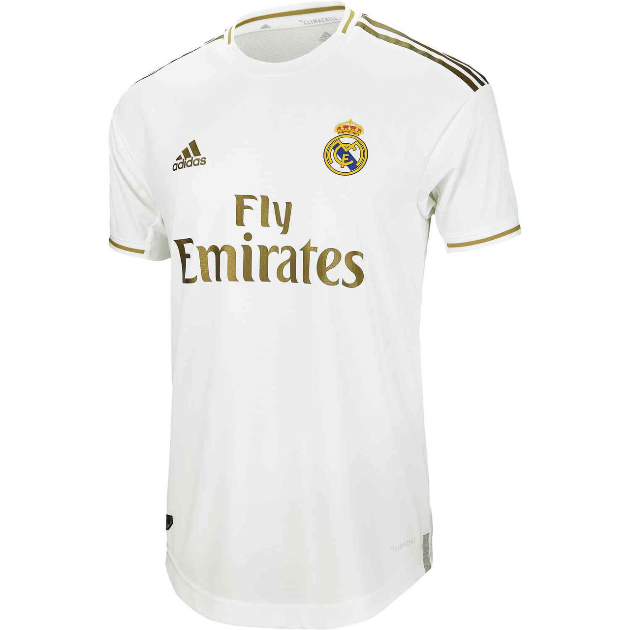 ADIDAS REAL MADRID 2020 AUTHENTIC HOME JERSEY WHITE
