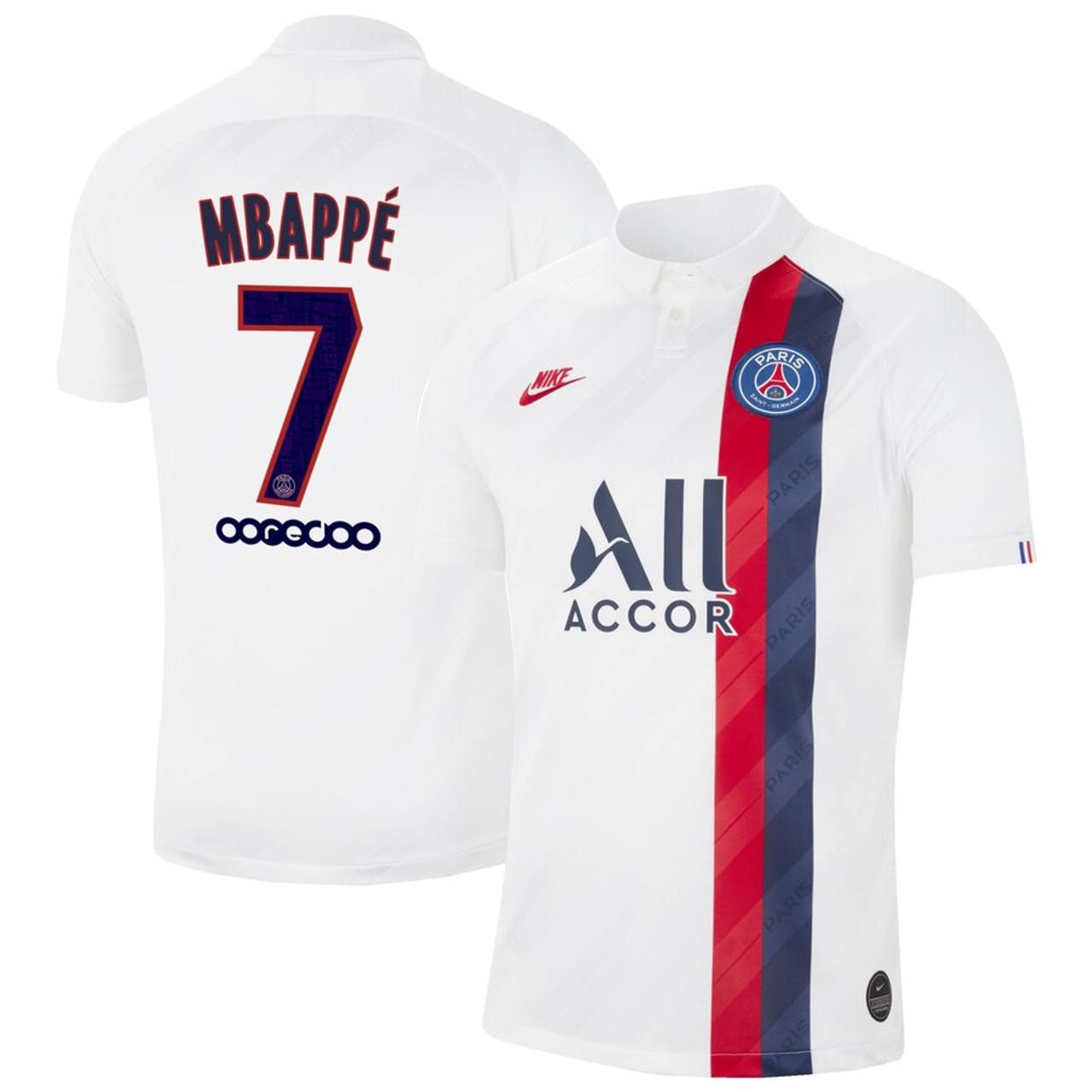 Nike Paris Saint Germain 2020 Mpappe Third Jersey Soccer Plus
