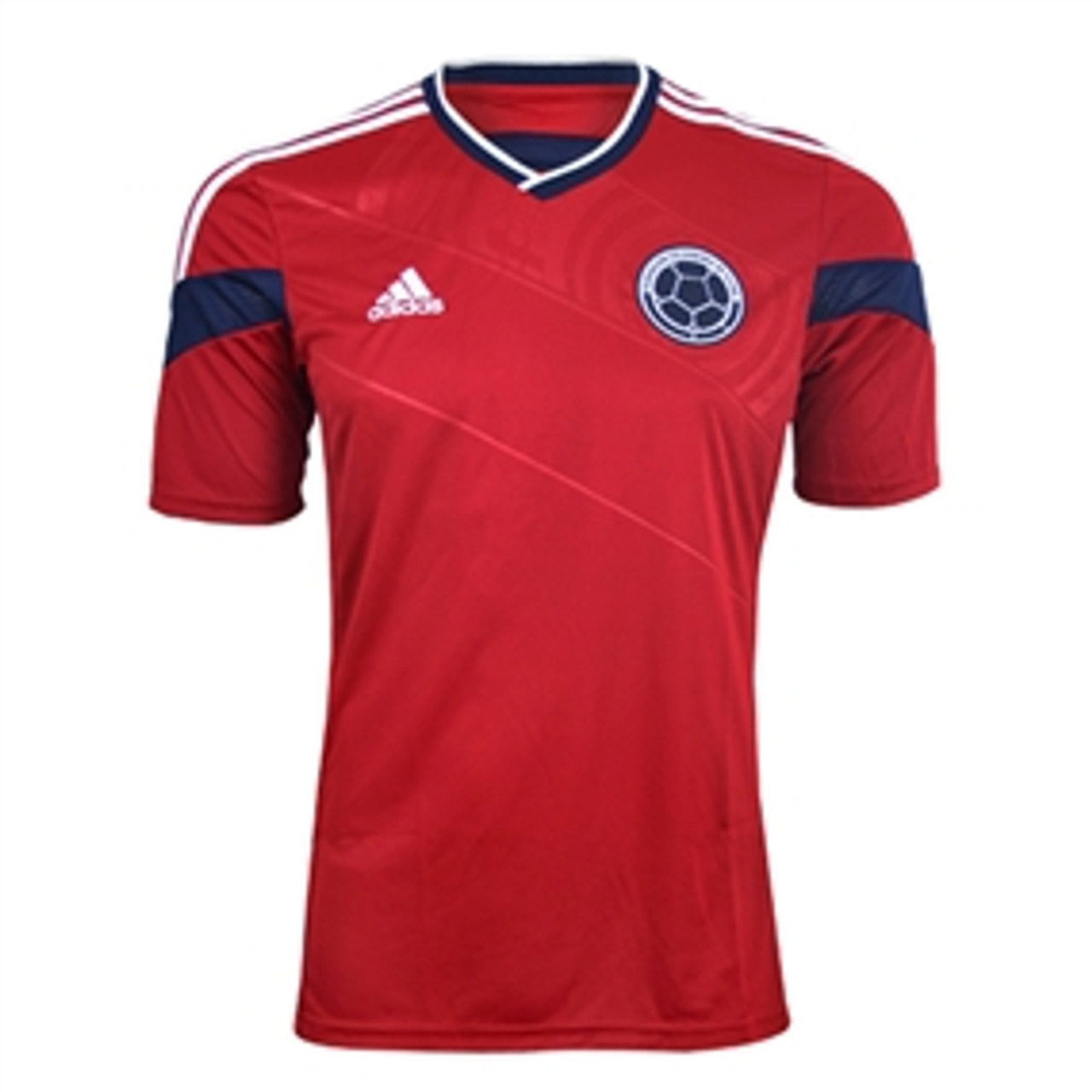 ADIDAS COLOMBIA 2014 AWAY RED JERSEY