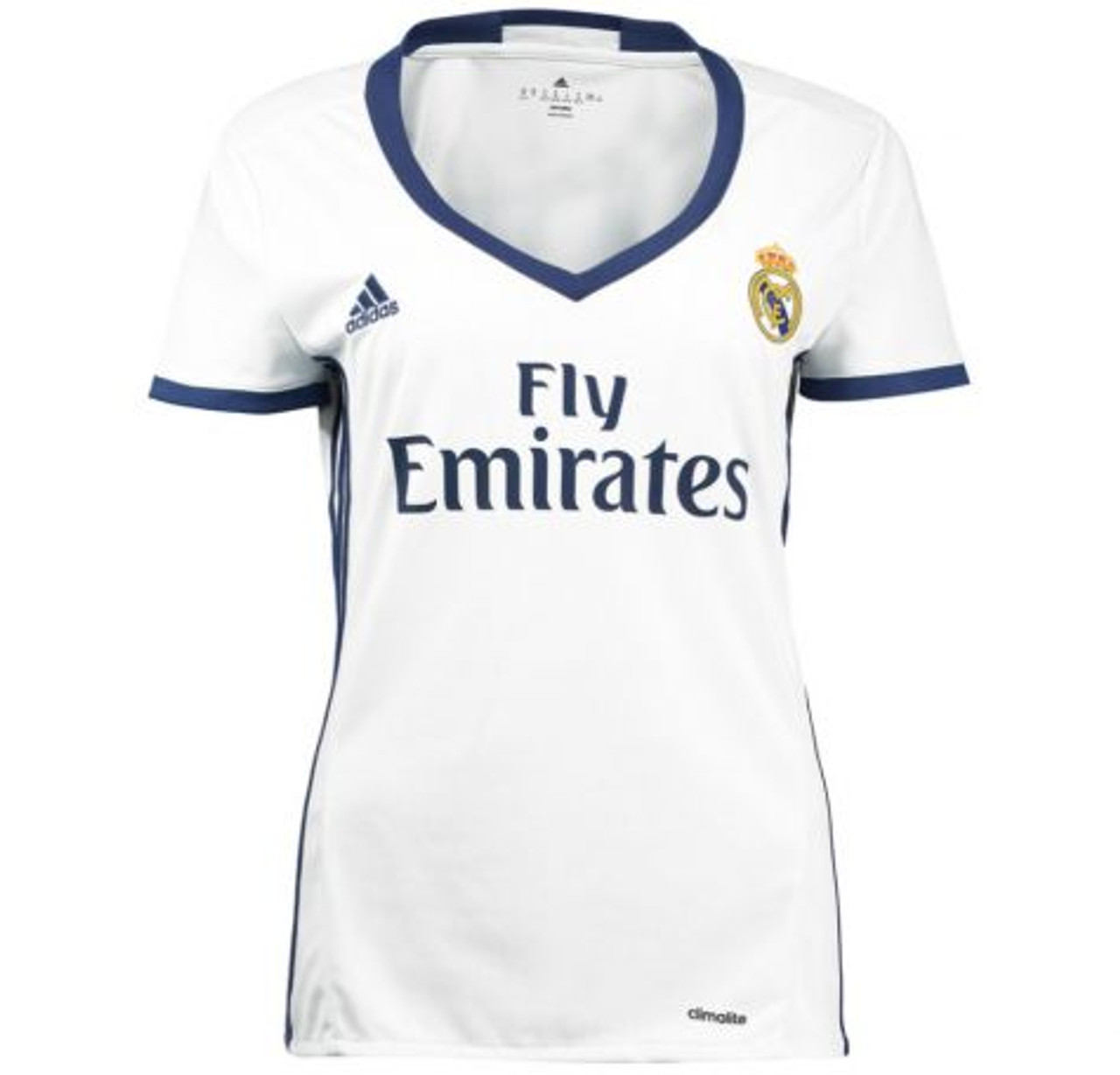 ADIDAS REAL MADRID 2017 WOMEN'S HOME JERSEY