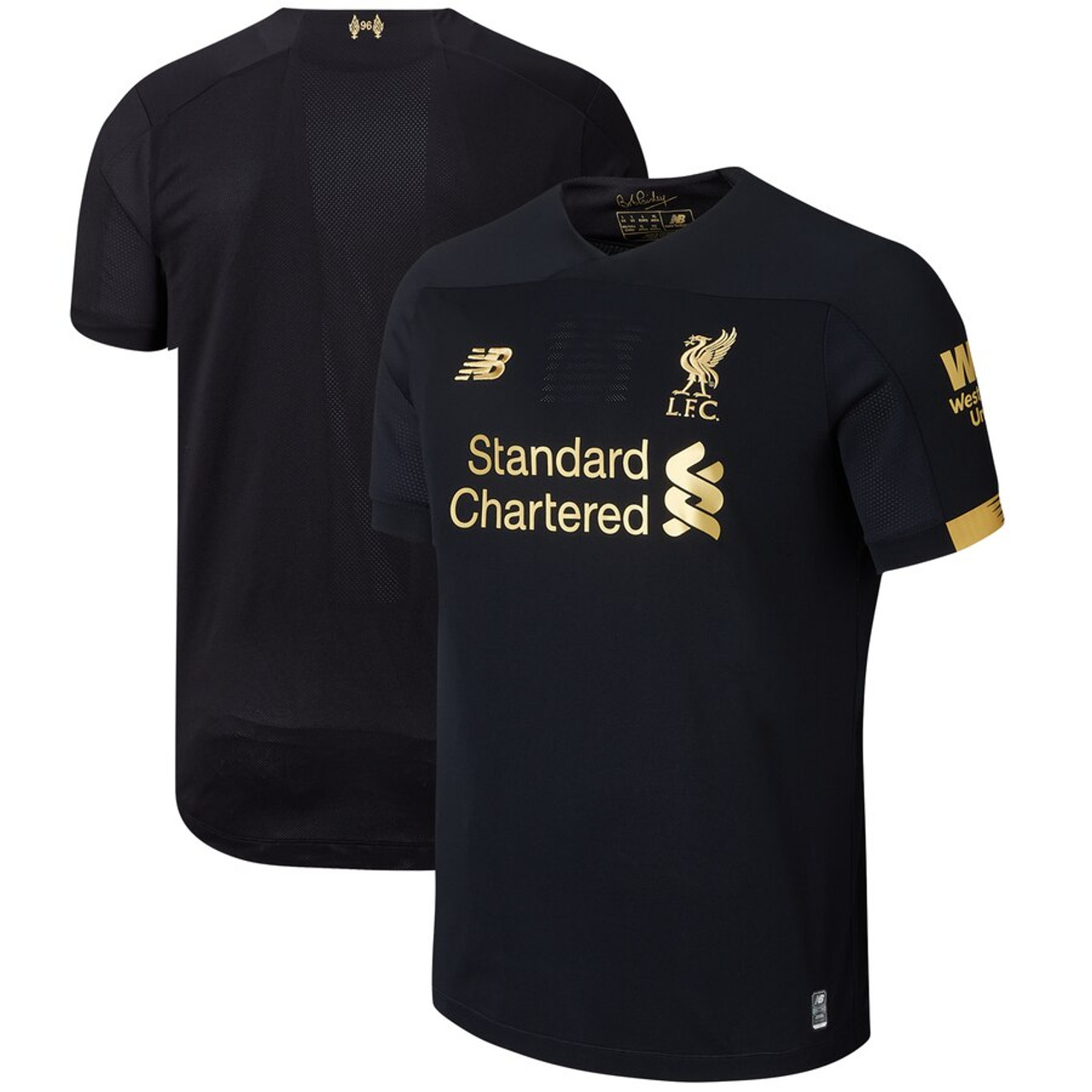 New Balance Liverpool Fc 2020 Gk Jersey Black Soccer Plus