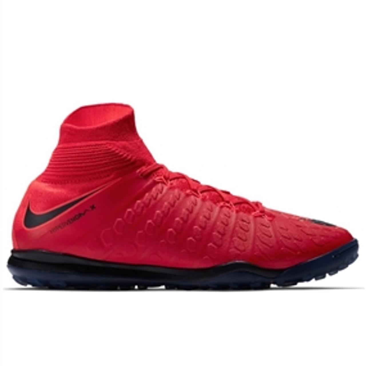 Nike HypervenomX Proximo II DF TF NIKE HYPERVENOMX PROXIMO II DF TF Turf University Red/Black ...
