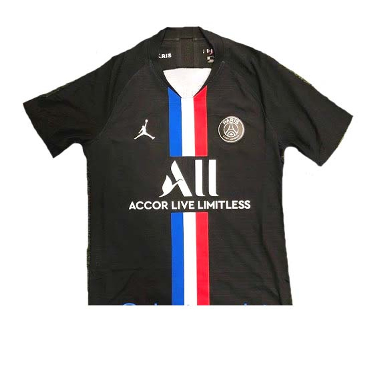 Nike Paris Saint Germain 2020 Jordan Jersey Black Soccer Plus