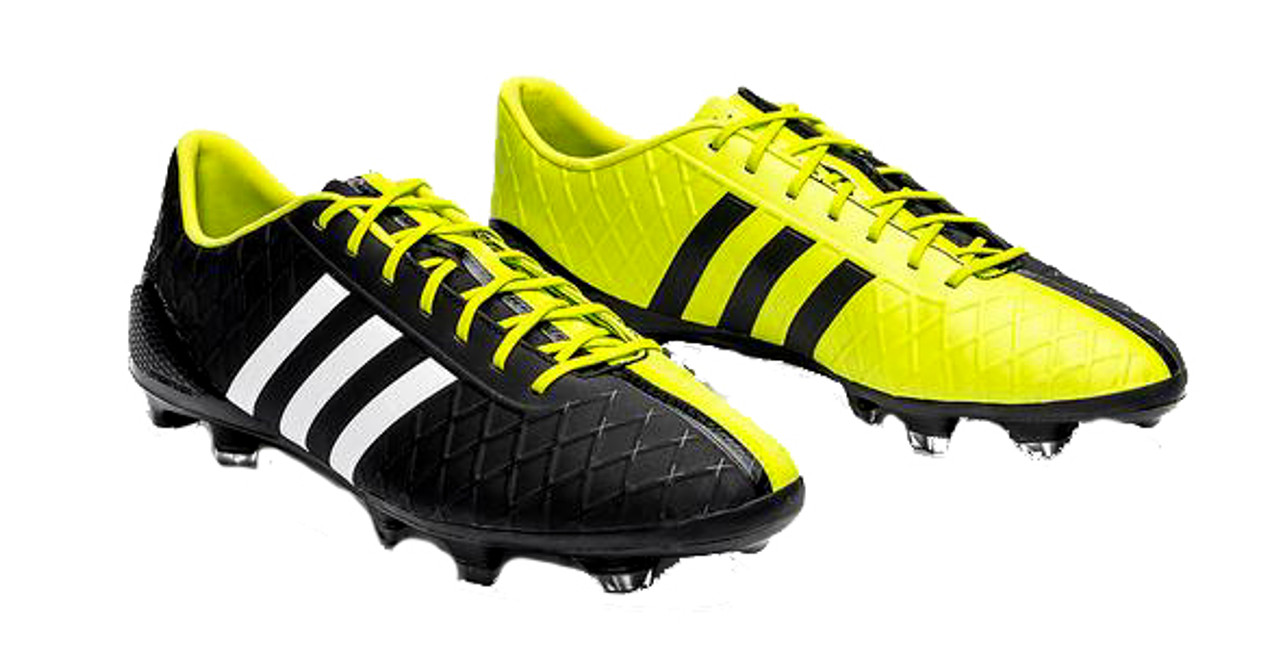 new concept 5409d 9cfe3 ADIDAS ADIPURE 11PRO SL FIRM GROUND SHOE Black yellow