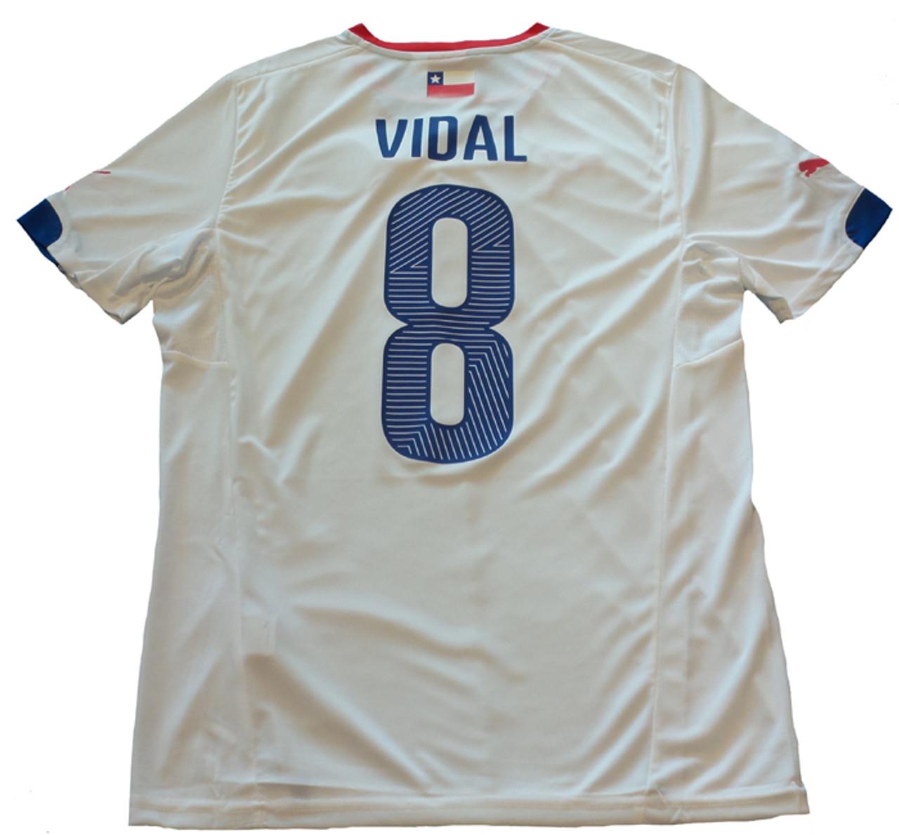 47f0cda8f48 PUMA CHILE 2015 `VIDAL` AWAY JERSEY - Soccer Plus