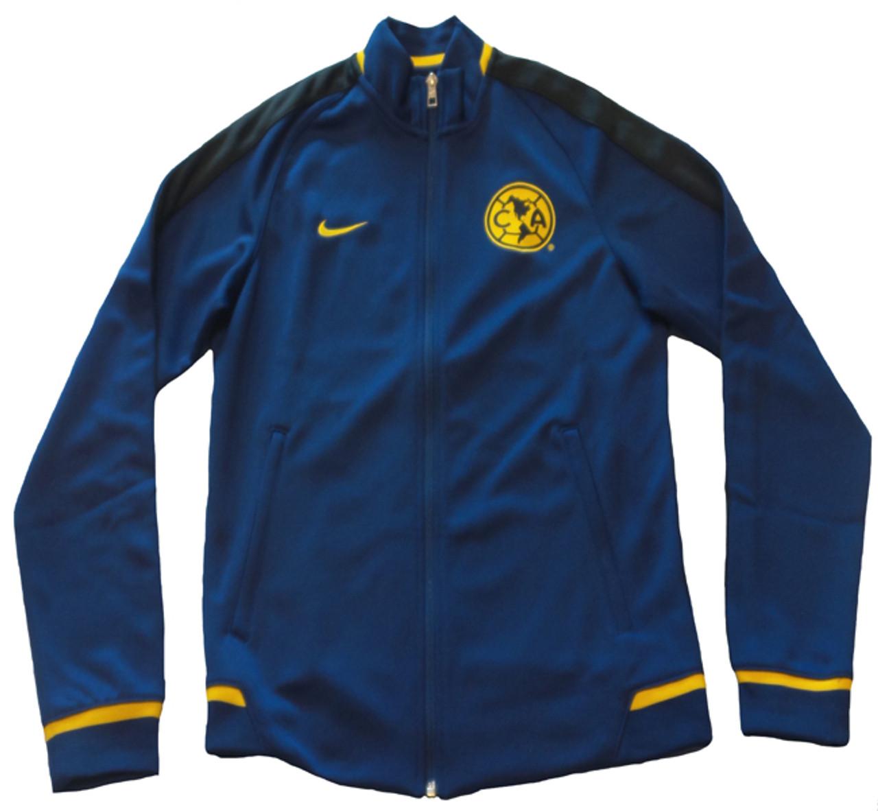 89cf5ab4e NIKE CLUBE AMERICA 2016 BLUE AUTHENTIC N98 JACKET - Soccer Plus