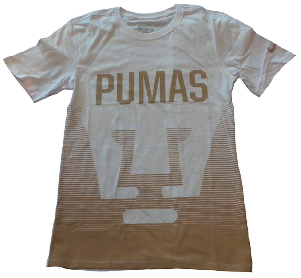 new products 81ebd 3d9b1 NIKE PUMAS UNAM 2016 T-SHIRT WHITE