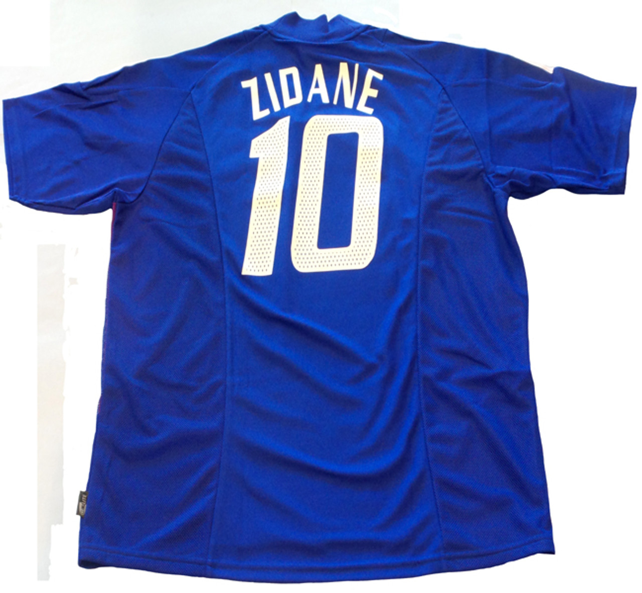 Adidas France 2002 Zidane Home Jersey Soccer Plus