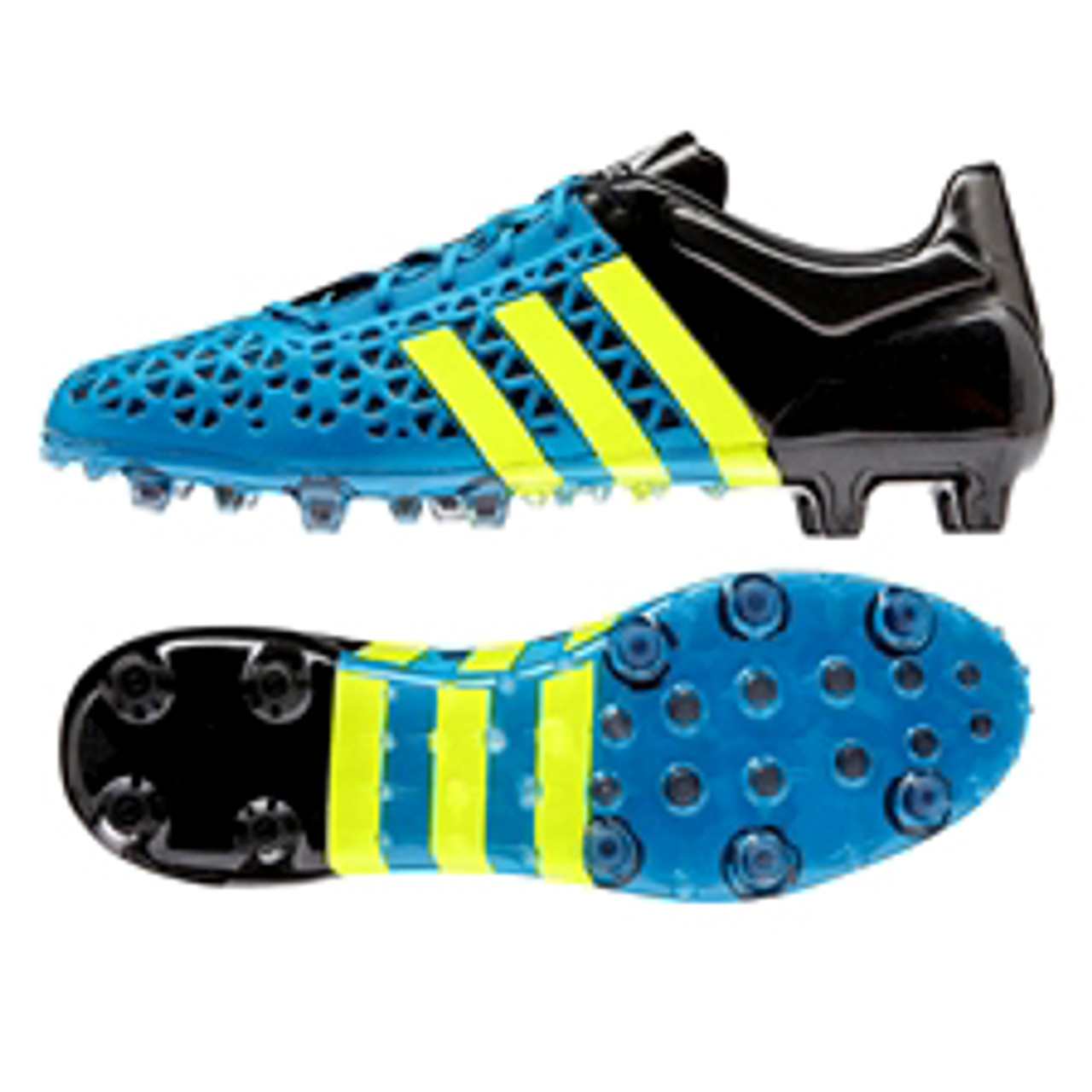 ADIDAS ACE 15.1 FGAG SOLAR BLUE firm ground soccer shoes