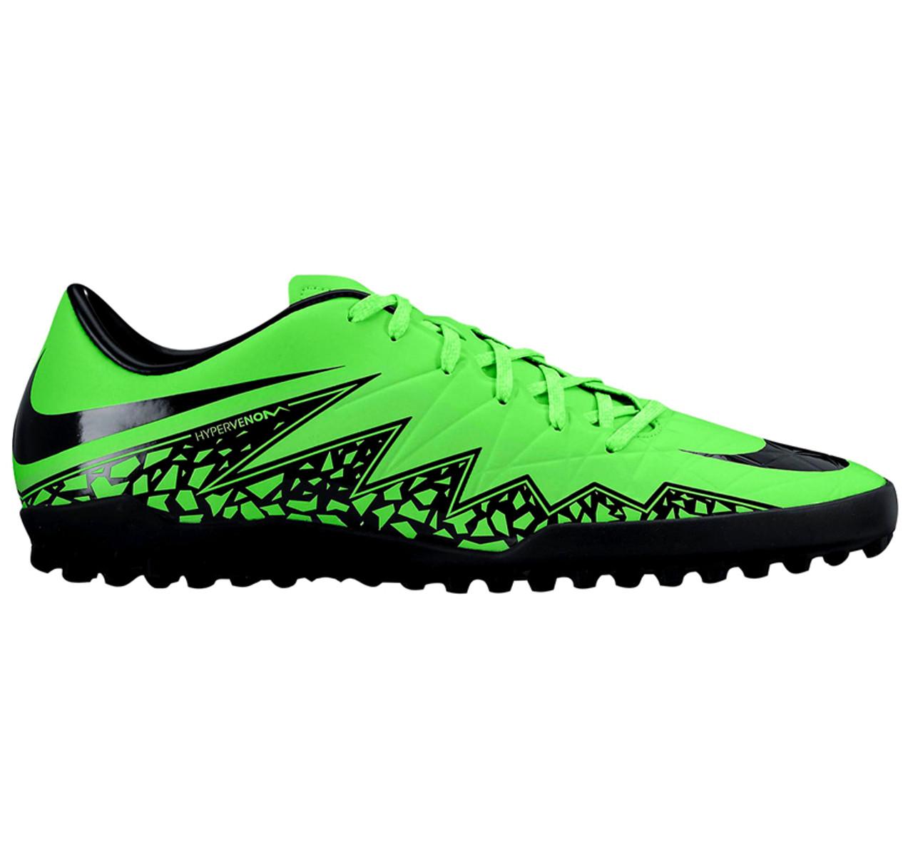 061f66095 NIKE JR HYPERVENOM PHELON II TF GREEN turf soccer shoes - Soccer Plus