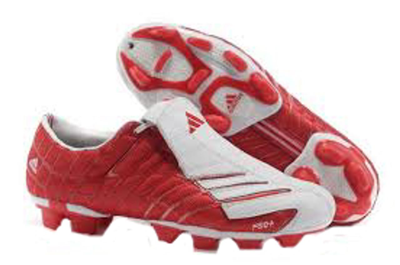 speciale promotie winkel elegante schoenen ADIDAS F50 TRX FG SILVER/RED firm ground soccer shoes