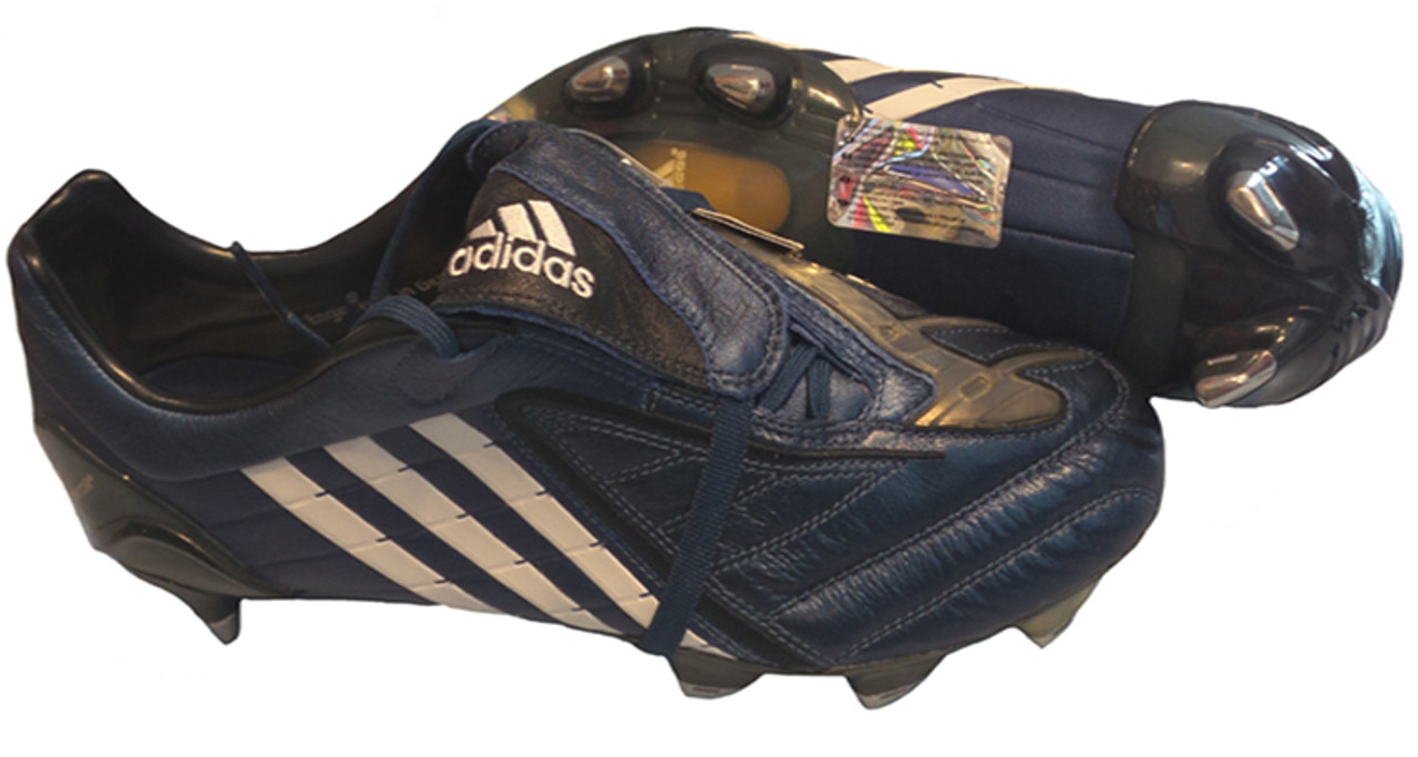 huge selection of 0a17a 517f0 ADIDAS P POWERSWERVE XTRX SG NAVY WHITE soft ground soccer shoe