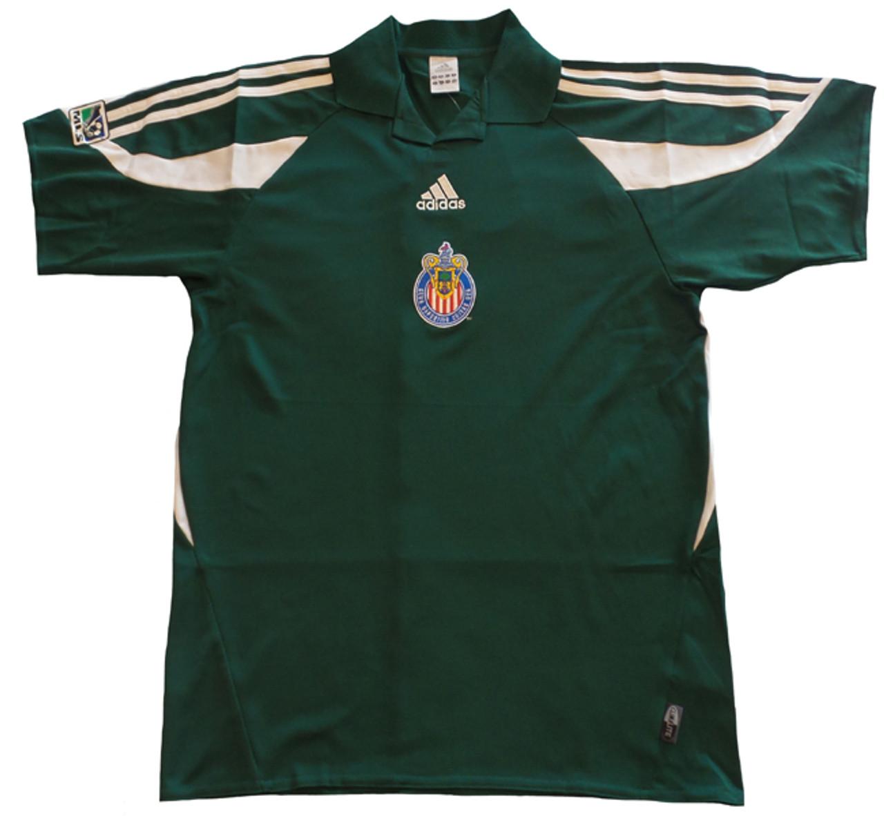 sale retailer 678c3 9d3d7 ADIDAS CHIVAS USA 2005 GREEN JERSEY LIMITED
