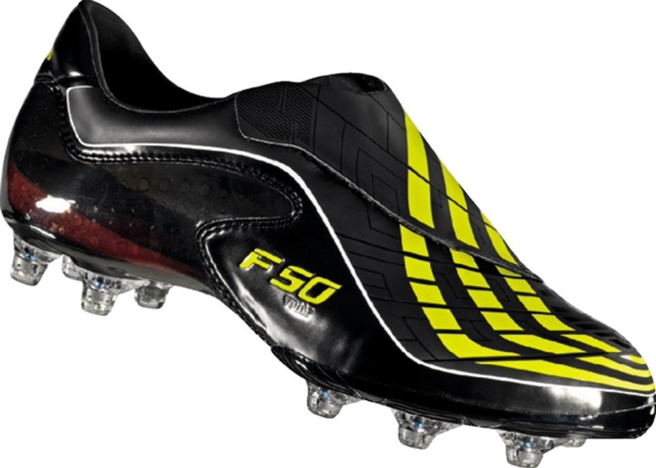 estante mínimo Sucio  ADIDAS MESSI F50.9 TUNIT black/neon yellow - Soccer Plus