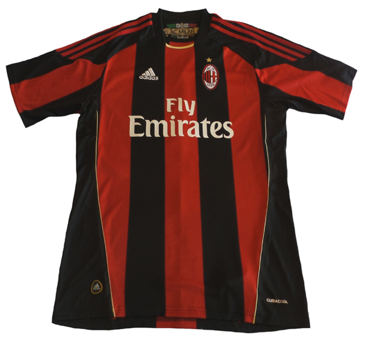 top fashion bafc0 8e1ec ADIDAS AC MILAN 2011 HOME JERSEY