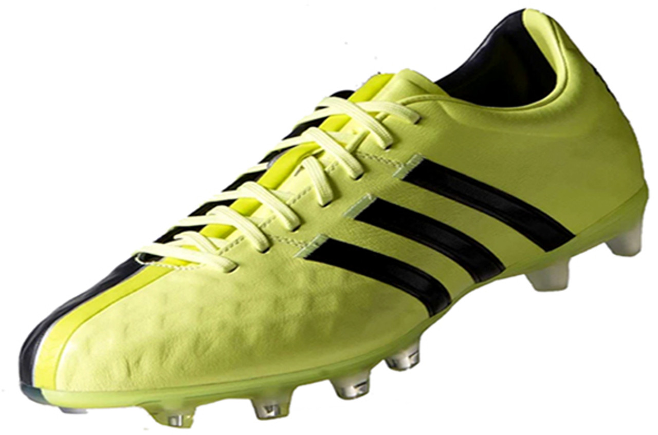 the latest b5ef6 f0b62 ADIDAS 11PRO FG YELLOW GREY firm ground soccer cleats - Soccer Plus