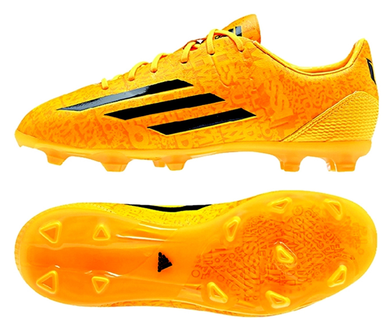 official photos ed15e 4f4ed ADIDAS F50 ADIZERO FG MESSI GOLD firm ground soccer cleats