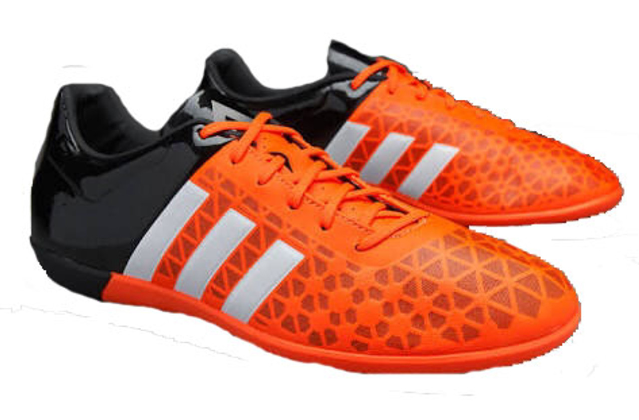 the best attitude d8046 e96ac ADIDAS ACE 15.3 ORANGE/BLACK indoor soccer shoes