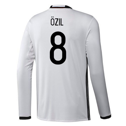 competitive price e1bf6 ff499 ADIDAS GERMANY HOME 2016 OZIL L/S JERSEY