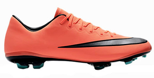 31f476170 NIKE MERCURIAL VICTORY FG bright mango junior firm ground cleats ...