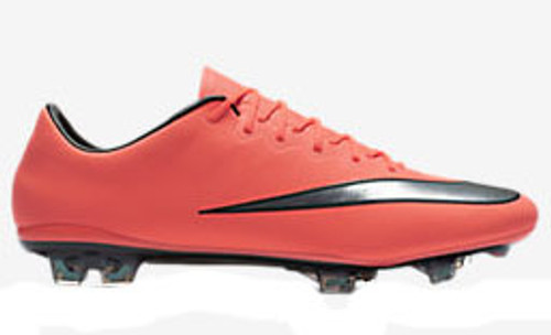 c3a6664ca22 NIKE MERCURIAL VAPOR X FG firm ground soccer cleats mango - Soccer Plus