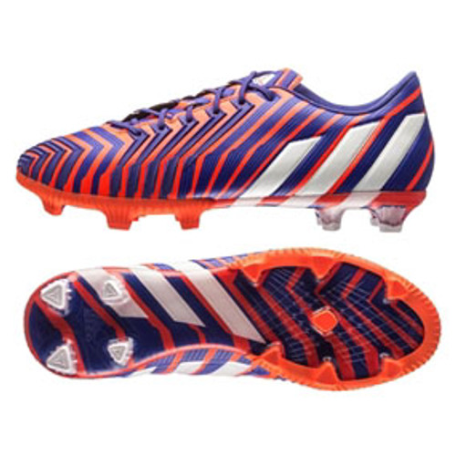 d9b687d8c Adidas JR Predator Instinct FG Soccer Cleats firm ground soccer cleats  Solar Red Night Flash