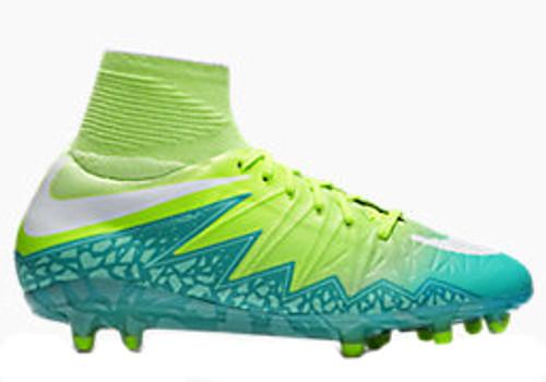 3d423caea NIKE HYPERVENOM PHANTOM II FG Women's firm ground soccer cleats green
