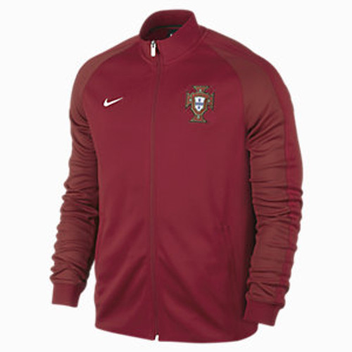 5b8df58c4e NIKE PORTUGAL 2016 AUTH N98 JACKET RED - Soccer Plus