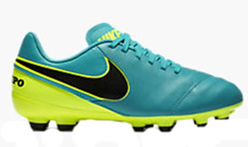 1d0a338074b NIKE JR TIEMPO LEGEND VI FG kids firm ground cleats grey - Soccer Plus