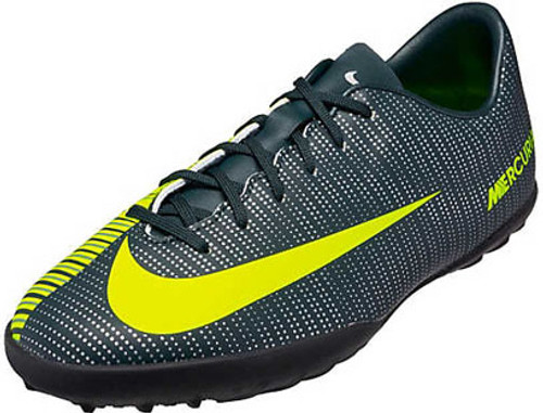 Clothing, Shoes & Accessories Soccer New Nike Ronaldo Mercurial X VI CR7 Turf  Soccer Shoes 852487 376 Sz 6y Blk/Grn