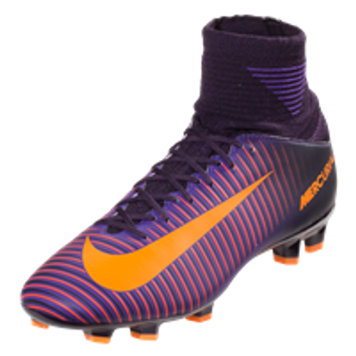 the best attitude 3561b 55caf NIKE JR. MERCURIAL SUPERFLY V FG kids firm ground cleats purple