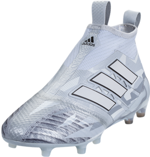 uk availability 33465 8681a ADIDAS ACE 17 PURECONTROL FG JUNIOR clear grey white