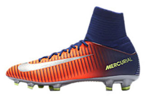 652241660 NIKE JR MERCURIAL VICTORY VI DF FG deep royal - Soccer Plus