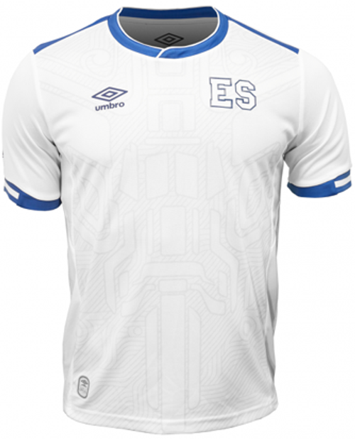 cdc6d2f09 Umbro El Salvador 2018 Away Jersey White Soccer Plus