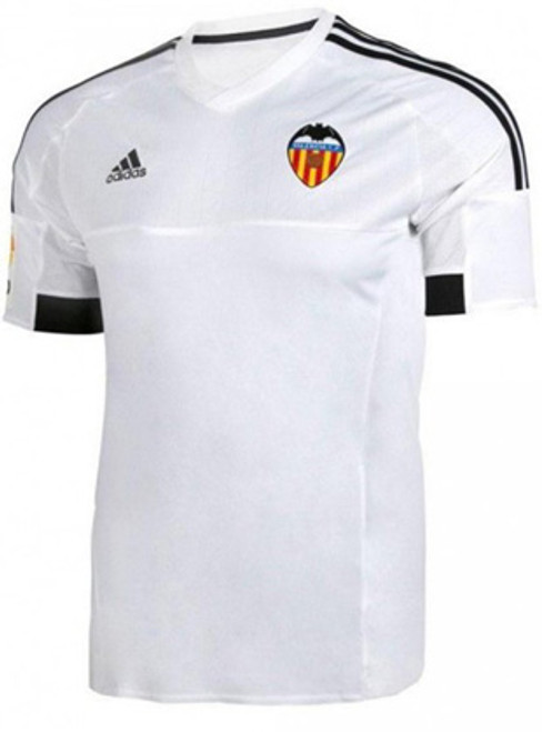 separation shoes d9cfd 4f457 ADIDAS VALENCIA 2015 HOME YOUTH JERSEY WHITE