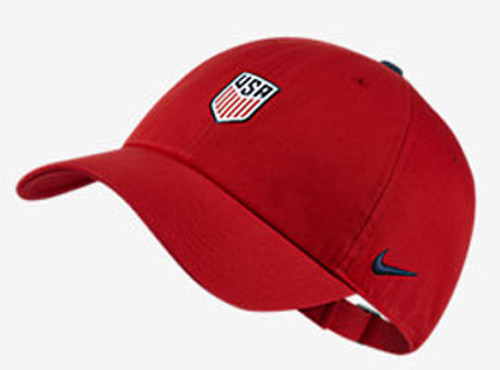 010399d736c NIKE USA 2018 HERITAGE 86 HAT RED - Soccer Plus