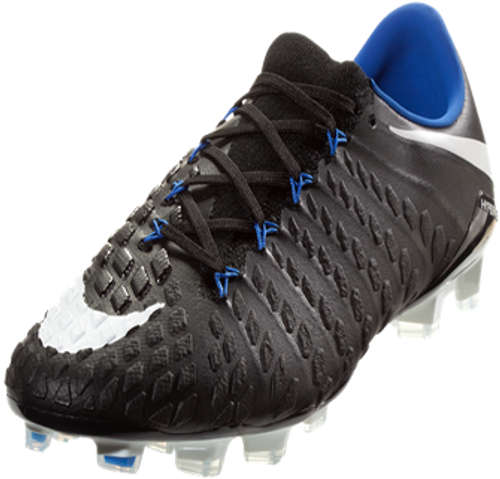 4806a33ea NIKE HYPERVENOM PHANTOM III FG Soccer Cleat - Black - Soccer Plus