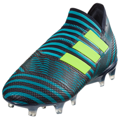 3ce43ff6d3d adidas Nemeziz 17+ 360Agility FG Soccer Cleat - Legend Ink Solar Yellow  Energy