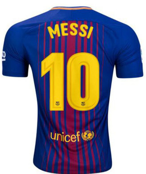 f8c8d816f NIKE BARCELONA 2018 MESSI HOME L S JERSEY - Soccer Plus